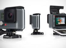 GoPro com compartilhamento rápido